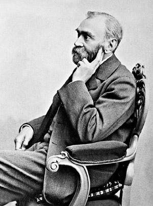 Alfred Nobel, 1833-1896.