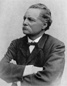 Artur Hazelius. Bild aus Wikipedia. Fotograf: Emil Hildebrand.