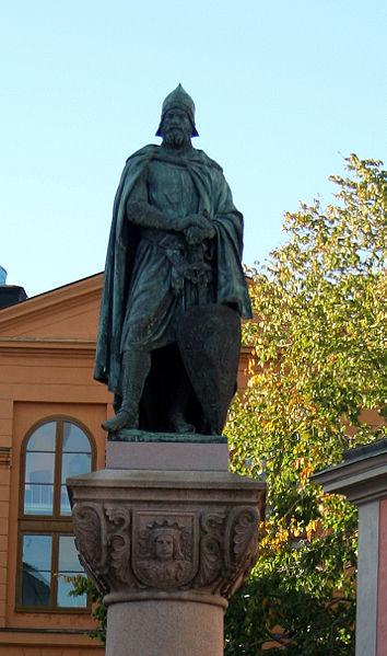 Statue Birger Jarls in Riddarholmen, Stockholm. Foto: Tage Olsin /de.wikipedia.org/ (CC BY-SA 2.0)