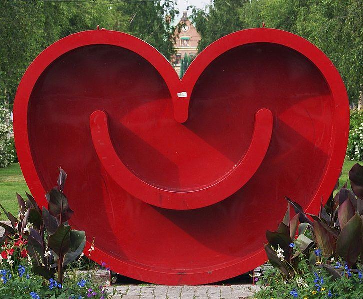 Das lächelnde Herz