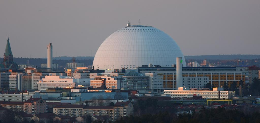 Blick auf die Ericsson Globe Arena. Foto: bengt-re /flickr.com (CC BY 2.0)