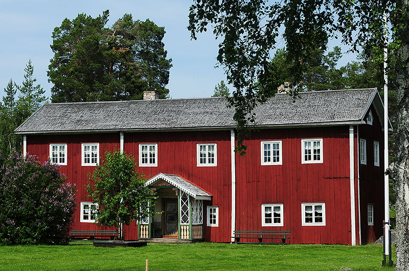 Fagelsjö gammelgård in Dalarna. Einer der zum Welterbe erklärten Hälsinge-Höfe. Foto: Jerry MagnuM Porsbjer /http://commons.wikimedia.org (CC BY-SA 3.0)
