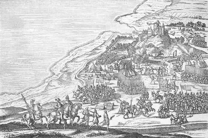 Fredrik II. von Dänemark erobert die Festung Älvsborg, 1563