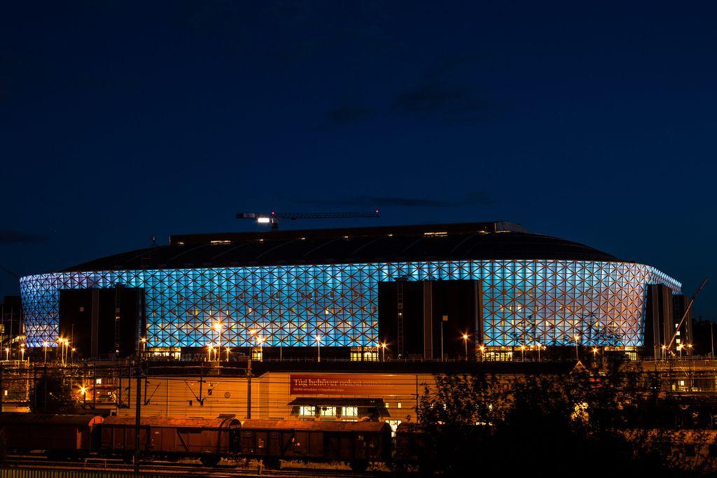 Noch im Bau: Die Friends Arena im Juli 2012. Foto: Håkan Dahlström /flickr.com (CC BY 2.0)