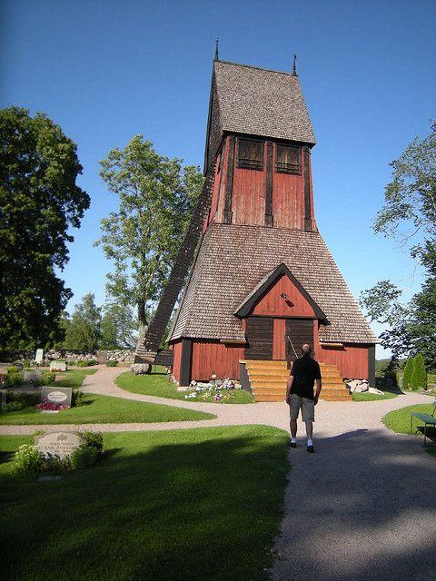 Glockenturm der Kirche in Gamla Uppsala. Foto: Boonerator (Richard Baer) /flickr.com (CC BY-SA 2.0)