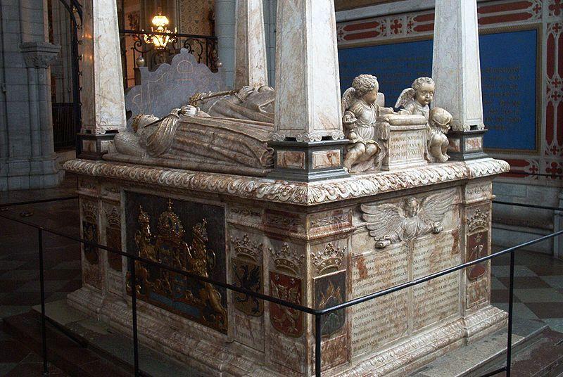 Grab Gustav Vasa in Uppsala