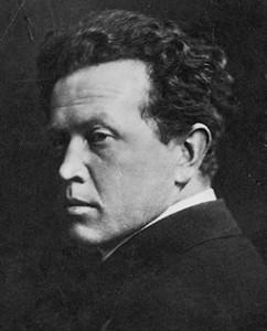 Hjalmar Bergmann. Foto aus Wikipedia. Fotograf unbekannt.