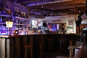 Die Bar der JA Ranch