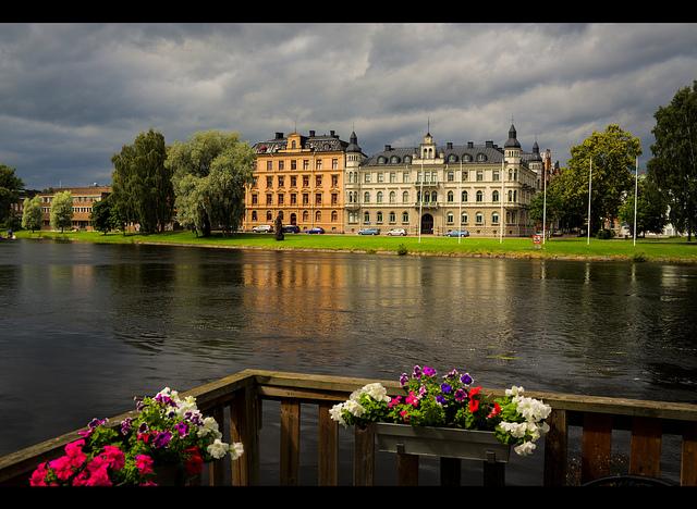 Klarälven in Karlstad