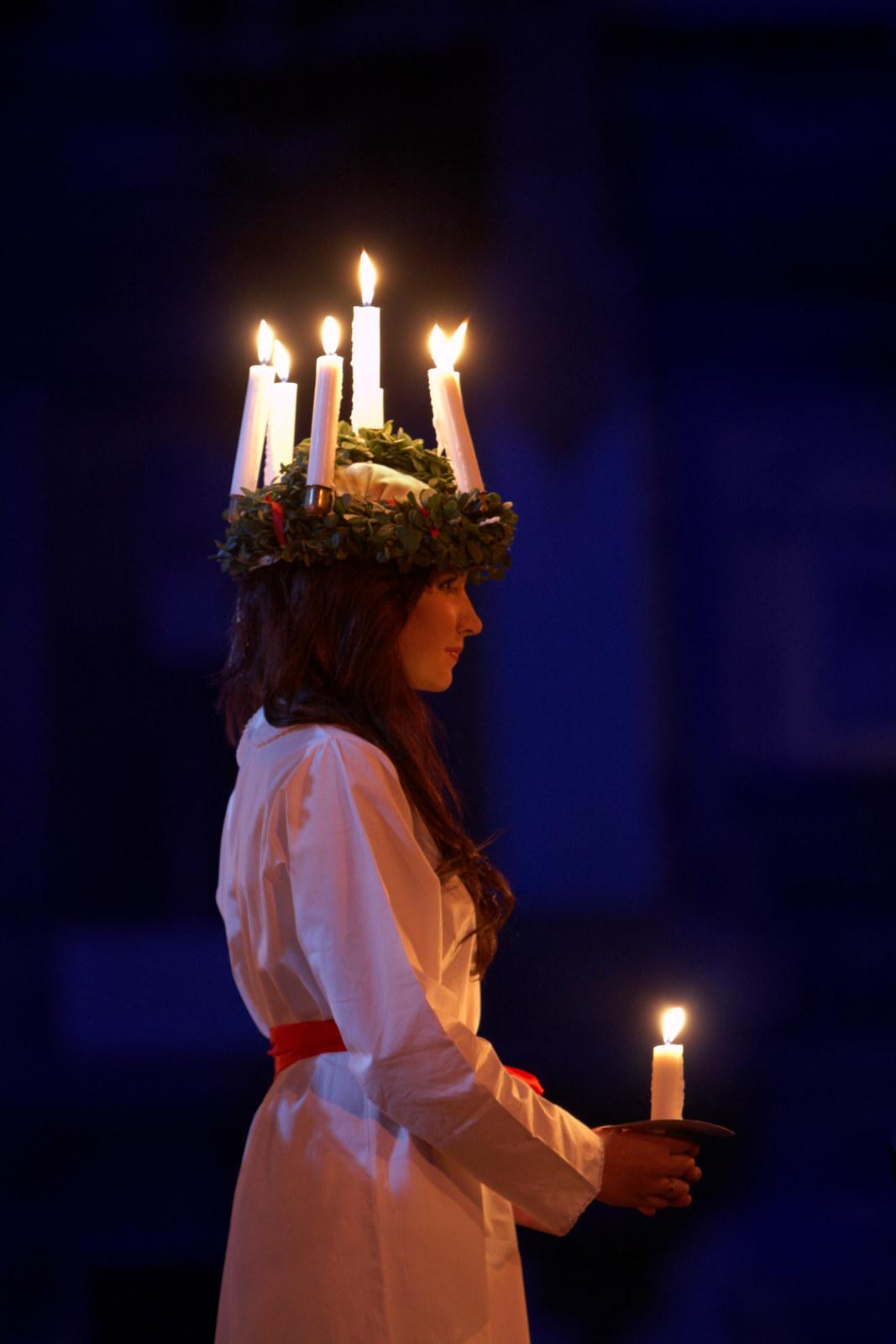 Schwedische Lichterkönigin