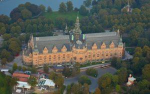 Das Nordische Museum. Bild aus Wikipedia. Fotograph: Johan Fredriksson