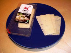 Prästost – ein schwedische Käse. Bild aus Wikipedia. Fotograph: Nordelch
