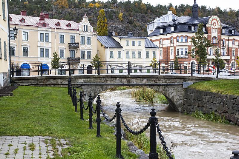 In Söderköping. Die Stadt am Göta-Kanal war im Mittelalter eine der wichtigsten Handels- und Hafenstädte in Schweden. Foto: Nysteanders /commons.wikimedia.org/ (CC BY-SA 3.0)