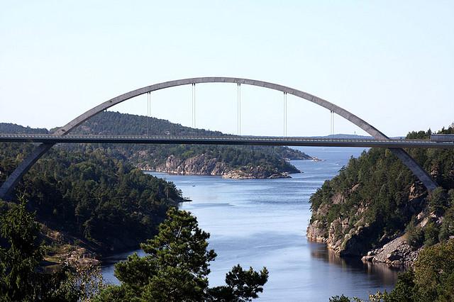 Die neue Svinesundbrücke. Foto: Jostein Ryan, Visit Oslofjord /flickr.com (CC BY-ND 2.0)