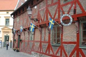 Von den Touristen auf Wallanders Spuren profitiert auch Ystads Altstadt