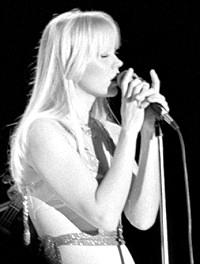Agnetha Fältskog während ihrer Zeit als ABBA Mitglied. Foto aus Wikipedia. Fotograf: Helge Øverås