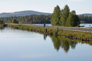 Der Blå Vägen durch Schweden. Bild aus Wikipedia. Fotograph: Sunehelgesson
