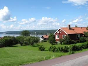 Landschaft in Dalarna am Siljansee Fotograf: Heide