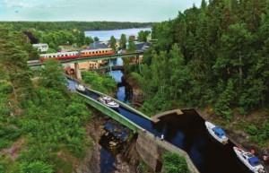 Dalslandkanal: Viadukt in Håverud