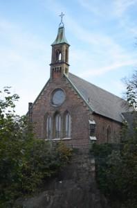 Von Robert Dickson gestiftete Kirche in Göteborg