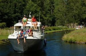 Heute befahren Freizeitkapitäne den Dalslandkanal
