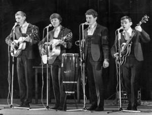 Die Hootennany Singers 1966 Foto aus Wikipedia. Fotograph: Arne Schweitz/Scanpix