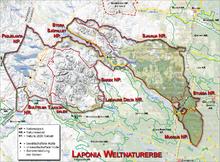 Karte von Laponia. Bild aus Wikipedia. Quelle: Ökologix