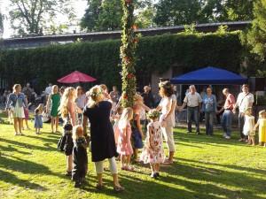 Mittsommerfeier in der Schwedischen Gemeinde Berlin, 2012. Foto: Anna Engberg