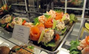 Smörgåsar in einer Konditorei. Foto: Heide