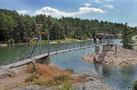 Hängebrücken zu den Inseln Foto: wikimedia
