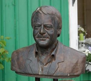 Skulptur von Stig Andersson in Höva von Gunnar Pettersson. Fotograf: Gunnar Pettersson