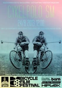 Fahrradpolo beim Stockholm Cykelfest