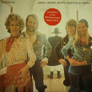 Waterloo, Sieger des Eurovision Song Contest 1974 Bild aus Wikipedia